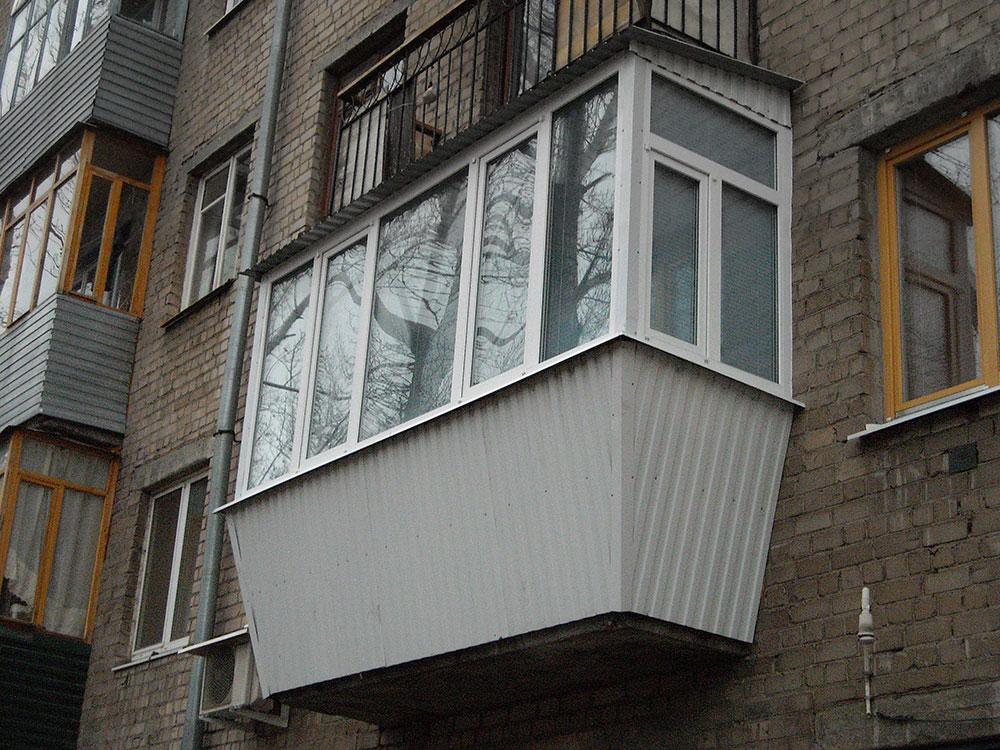 Остекление балконов и лоджий в самаре, низкие цены на утепле.
